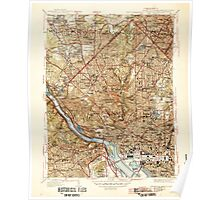 USGS Topo Map District of Columbia DC Washington West 257238 1945 31680 Poster