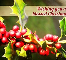 Blessed Christmas (Card) by Tracy Friesen