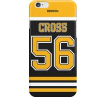 Boston Bruins Tommy Cross Jersey Back Phone Case iPhone Case/Skin