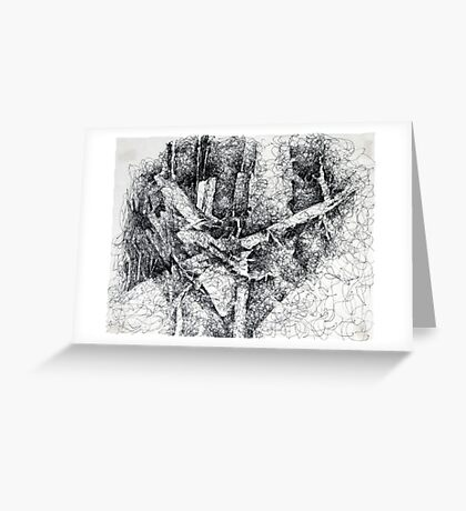 Fallen Trees 2 Greeting Card