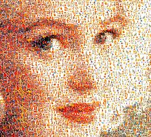 """Marilyn Monroe - Mosaic #6"" phone by Michelle Lee Willsmore"