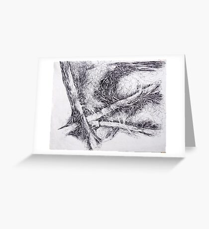 Fallen Trees Greeting Card