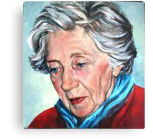 Winter Portrait, Sophia Canvas Print