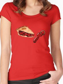 Pie Key Women's Fitted Scoop T-Shirt