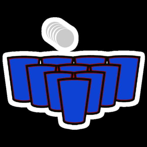 Beer Pong by GunnBranch
