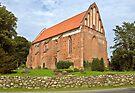 MVP111 Niepars Village church, near Stralsund, Germany. by David A. L. Davies