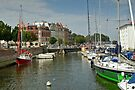 MVP114 Stralsund canal Harbour, Germany. by David A. L. Davies