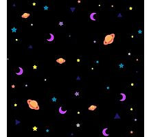 Univers Cool Pattern Stars Planet Space Photographic Print