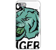 Go Tigers Blue iPhone Case/Skin