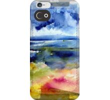 Malibu Abstraction iPhone Case/Skin