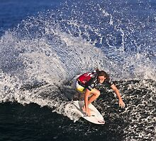 Matt Wilkinson at 2010 Billabong Pipe Masters In Memory Of Andy Irons by Alex Preiss