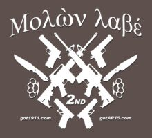 μολὼν λαβέ! Molon Labe! Come and Take them! Kids Clothes