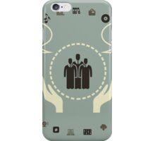 Global world5 iPhone Case/Skin