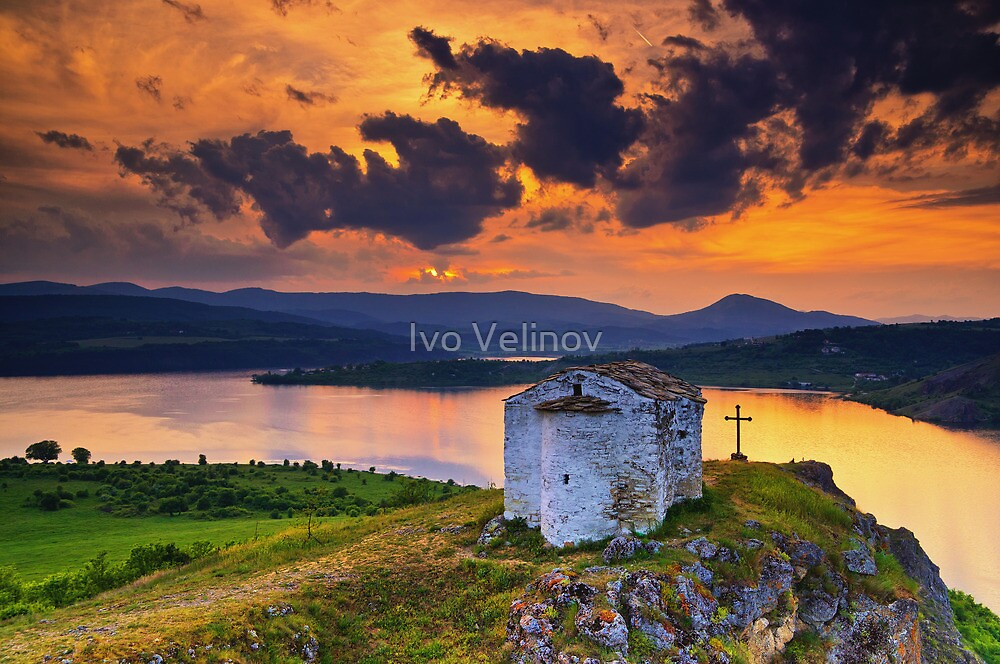 Saint Joan Letni chapel, Bulgaria by Ivo Velinov