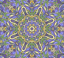 Mandala (Iris) by JuliaBadeeva
