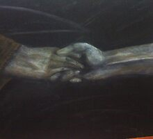 Hand to hold by Jackie Penney
