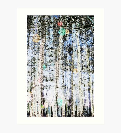 Light Up The Trees Art Print