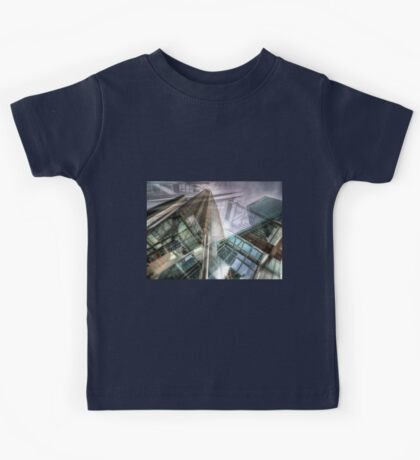 Canary Wharf Tower Abstracts Kids Tee