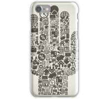 Hand business3 iPhone Case/Skin
