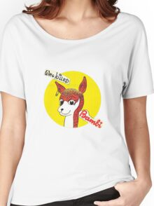 who killed bambi 1 Women's Relaxed Fit T-Shirt