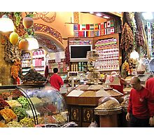 The Egyptian Spice Market Photographic Print