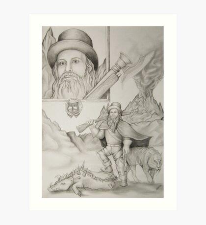 Dwarf Hunter Art Print