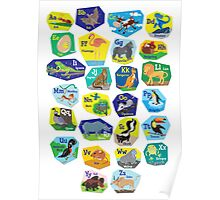 Alphabet for Children Poster