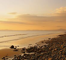 Over the Irish sea..... by Lee Van Hallam