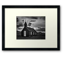The Black Church Framed Print