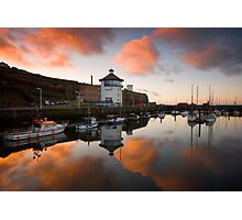 Whitehaven Harbour Photographic Print