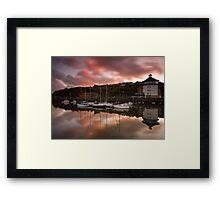 Whitehaven Reflections Framed Print