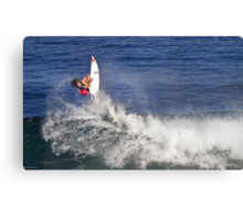 Matt Wilkinson 2 at 2010 Billabong Pipe Masters In Memory Of Andy Irons Canvas Print