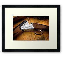 Brass Trigger Framed Print