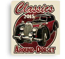 Classics around Dorset 2015 Canvas Print