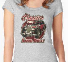 Classics around Dorset 2015 Women's Fitted Scoop T-Shirt