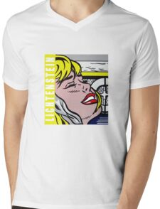 Lichtenstein tribute Mens V-Neck T-Shirt