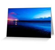 Ardrossan by Night Greeting Card