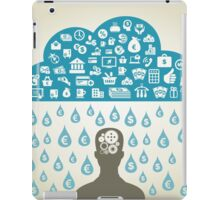 Person business3 iPad Case/Skin