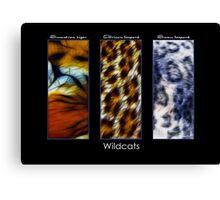 Wildcats Canvas Print