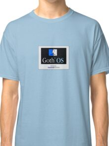 Goth OS (System 9) Classic T-Shirt