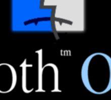 Goth OS (System 9) Sticker