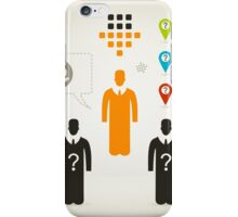 Person business4 iPhone Case/Skin