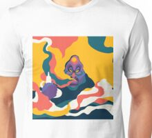 Smoking Apes Version 02 Unisex T-Shirt