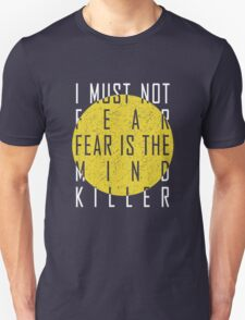 Dune - The Litany Against Fear (White) Unisex T-Shirt