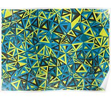 Cool Abstract Print - Geometry Pattern Poster