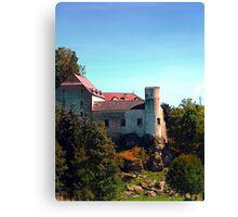 Waldenfels castle IV Canvas Print