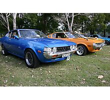 RA Celica's a Perfect Pair Photographic Print
