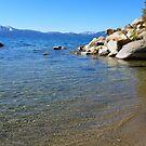 Lake Tahoe's Sparkling Shoreline by Elaine Bawden