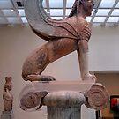 The Famous Sfinx of Delphi by HELUA