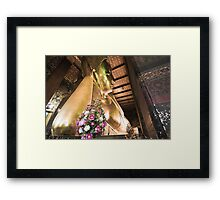 The Reclining Buddha Framed Print